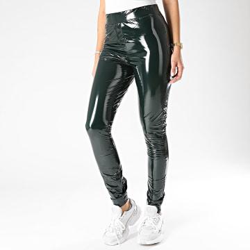 Only - Legging Femme Lola Vert Kaki