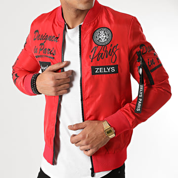Zelys Paris - Veste Bomber Ydesigned Rouge