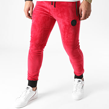 Zelys Paris - Pantalon Jogging Ibradley Rouge