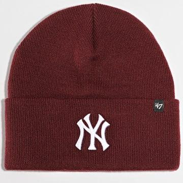 '47 Brand - Bonnet Ace New York Yankees Bordeaux