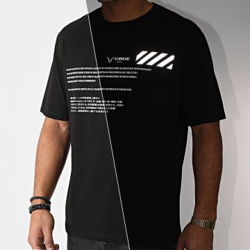 Aarhon - Tee Shirt 93056 Noir Réfléchissant