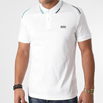 BOSS - Polo Manches Courtes Paule 1 50443453 Blanc