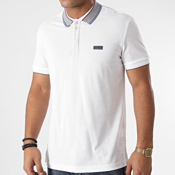 BOSS - Polo Manches Courtes Paddy 50442008 Blanc