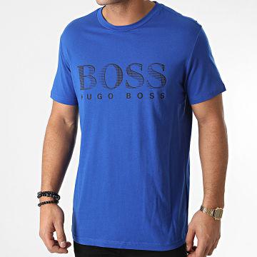 BOSS - Tee Shirt RN 50407774 Bleu Roi