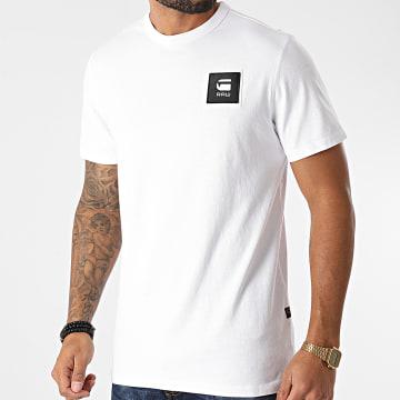 G-Star - Tee Shirt D18197-C336 Blanc