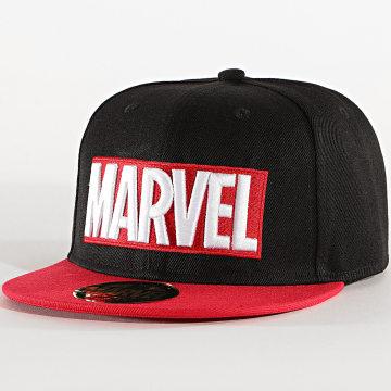Marvel - Casquette Snapback Marvel Noir Rouge