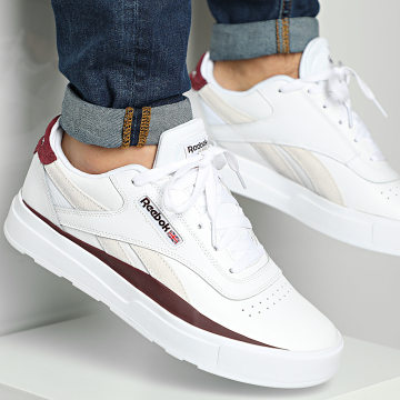 Reebok - Baskets Legacy Court FV8993 White Maroon White