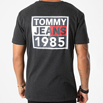 Tommy Jeans - Tee Shirt Front And Back 9485 Bleu Marine Chiné