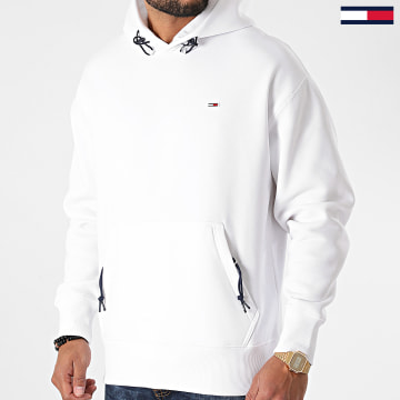 Tommy Jeans - Sweat Capuche Detail 9784 Blanc