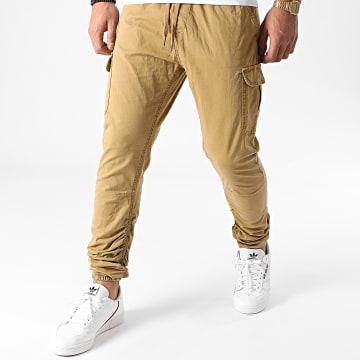 Indicode Jeans - Jogger Pant Lakeland Camel