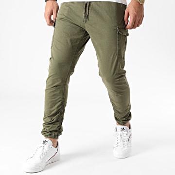 Indicode Jeans - Jogger Pant Lakeland Vert Kaki