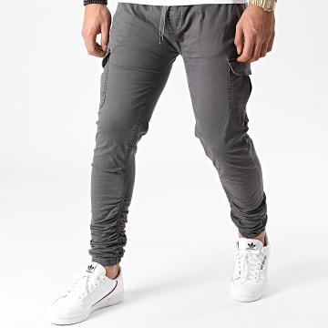 Indicode Jeans - Jogger Pant Lakeland Gris Anthracite
