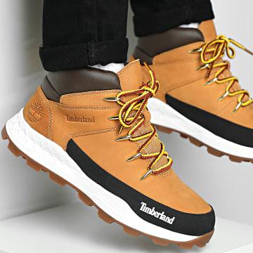 Timberland - Boots Brooklyn Mid Hiker A2P5E Wheat Nubuck