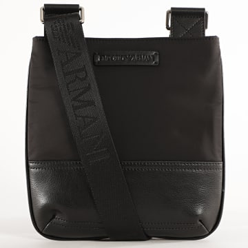 Emporio Armani - Sacoche Flat Messenger Y4M234 Noir