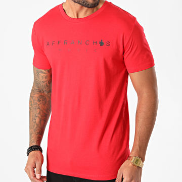 Affranchis Music - Tee Shirt Affranchis Music Rouge