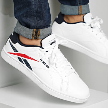 Reebok - Baskets Royal Complete CLN FY8985 White Collegiate Navy Vector Red