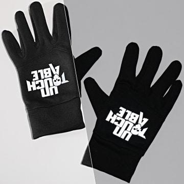 Untouchable - Gants Logo Reflective Noir
