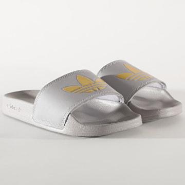 Adidas Originals - Claquettes Femme Adilette Lite FW0542 Glow Grey