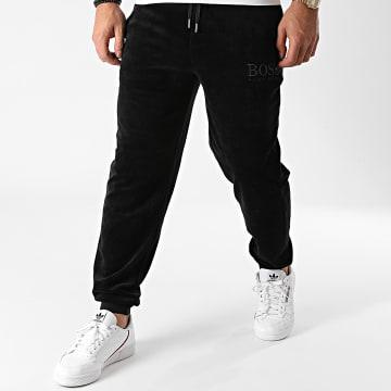 BOSS - Pantalon Jogging Velours 50442821 Noir