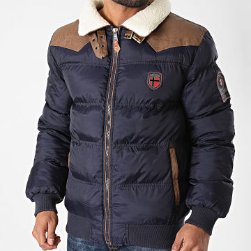 Geographical Norway - Blouson Abramovitch Bleu Marine