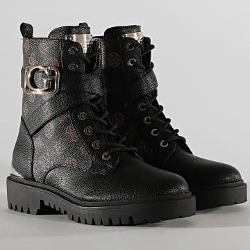 Guess - Boots Femme FL8ONAFAL10 Noir