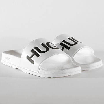 HUGO - Claquettes Match 50421188 White