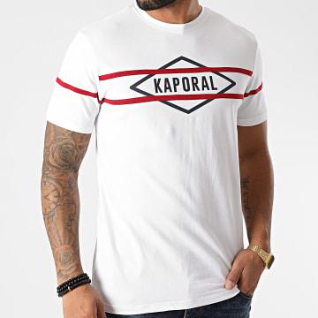 Kaporal - Tee Shirt ROYM11 Blanc