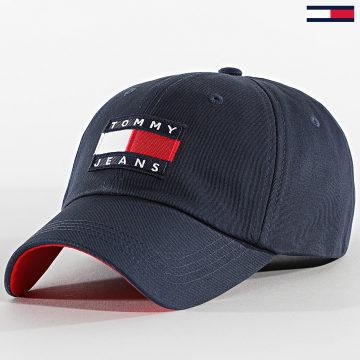 Tommy Jeans - Casquette Heritage Cap 6660 Bleu Marine
