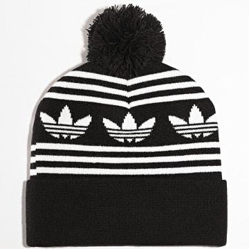 Adidas Originals - Bonnet Jacquard Pom GD4597 Noir