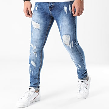 LBO - Jean Skinny JLB054AH2 Denim Bleu Medium
