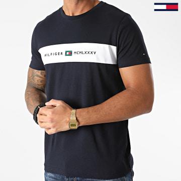 Tommy Hilfiger - Tee Shirt New Logo 8795 Bleu Marine