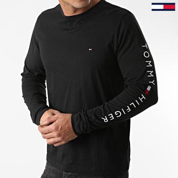Tommy Hilfiger - Tee Shirt Manches Longues Logo 9096 Noir