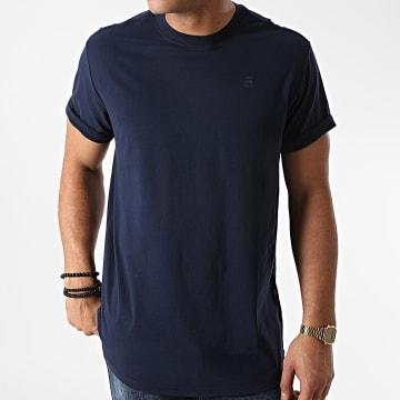 G-Star - Tee Shirt Oversize Lash D16396-B353 Bleu Marine