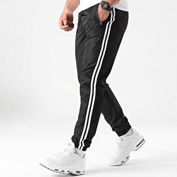 LBO - Pantalon Jogging A Bandes 0008 Noir