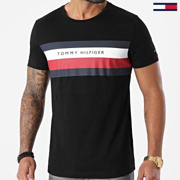 Tommy Hilfiger - Tee Shirt Stripe 5318 Noir