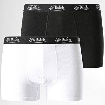Von Dutch - Lot De 2 Boxers Noir Blanc