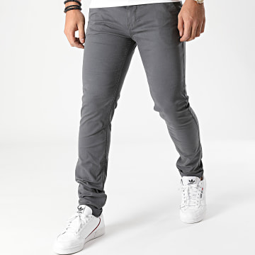 Blend - Pantalon Chino 20703472 Gris Anthracite