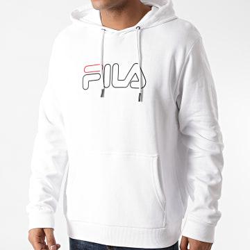 Fila - Sweat Capuche Laban 687125 Blanc