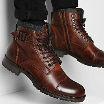 Jack And Jones - Boots Albany 12140938 Brown Stone