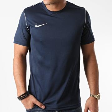 Nike - Tee Shirt Bleu Marine