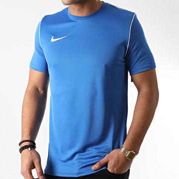 Nike - Tee Shirt Bleu Azur