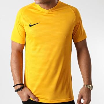 Nike - Tee Shirt Col V Jaune