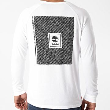 Timberland - Tee Shirt Manches Longues A2AEM Blanc