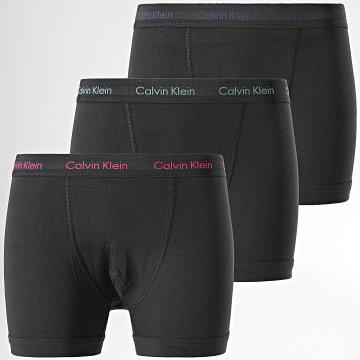 Calvin Klein - Lot De 3 Boxers Cotton Stretch U2662G Noir
