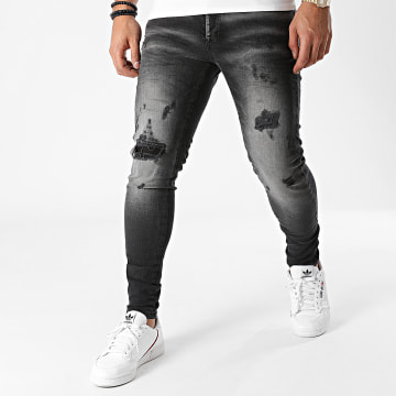 Classic Series - Jean Skinny DHZ-3278 Gris Anthracite