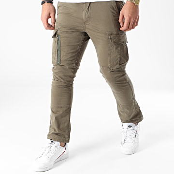 Superdry - Pantalon Cargo Recruit Grip 2.0 M7010186A Vert Kaki