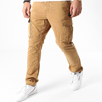 Superdry - Pantalon Cargo Recruit Grip M7010186A Camel