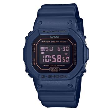 Casio - Montre G-Shock DW-5600BBM-2ER Bleu Marine