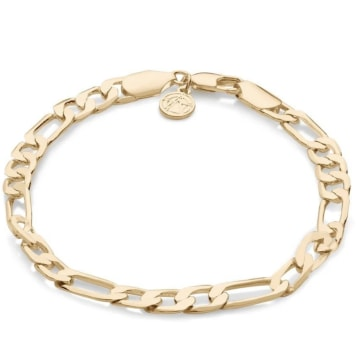 Chained And Able - Bracelet Royal Figaro OE025 Doré