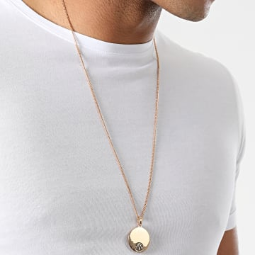 Chained And Able - Pendentif Logo NE16041 Doré